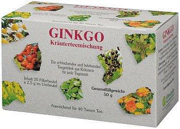 Ginkgo-Kräuterteemischung