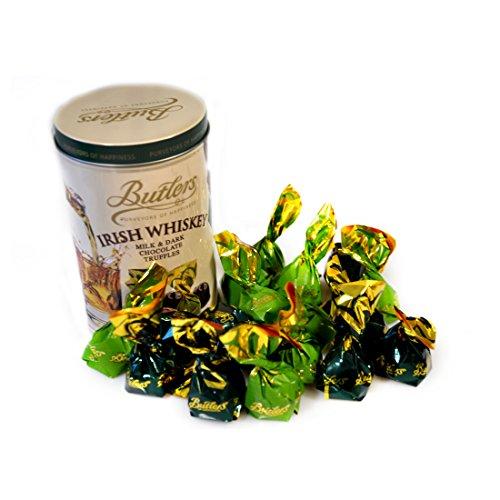 Butlers Chocolate Buter Irish Whiskey Truffle Tin, 160 g