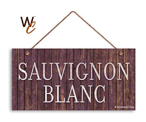 Sauvignon Blanc Wijnbord, Distressed Wood Style, 5