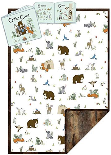 Minky Read to Me Forest Cuddle Kit Quilt Kit Shannon Fabrics