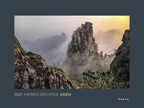 Farben der Erde Asien 2021: Wandkalender (KUNTH Wandkalender Black Edition)