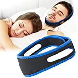 HetCae Anti Snoring Chin Strap,Snoring Solution Anti Snoring Devices Effective Stop Snoring Chin Strap for Men Women Adjustable Snore Reduction Snore Stopper Advanced Sleep Aids for Better Sleep