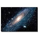 Poster Milchstraße Galaxy Space Stars Nebel Kunst Leinwand