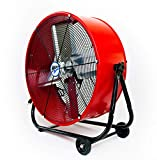 Maxx Air | Industrial Grade Air Circulator for Garage, Shop, Patio, Barn Use | 24-Inch...