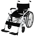 DLY Ancianos Discapacitados Ancianos Silla de Ruedas Móvil - Silla de Ruedas Manual Liviana - Movilidad de Transporte Silla de Ruedas - para Hemiplejia de Edad Y Accidente Cerebrovascular