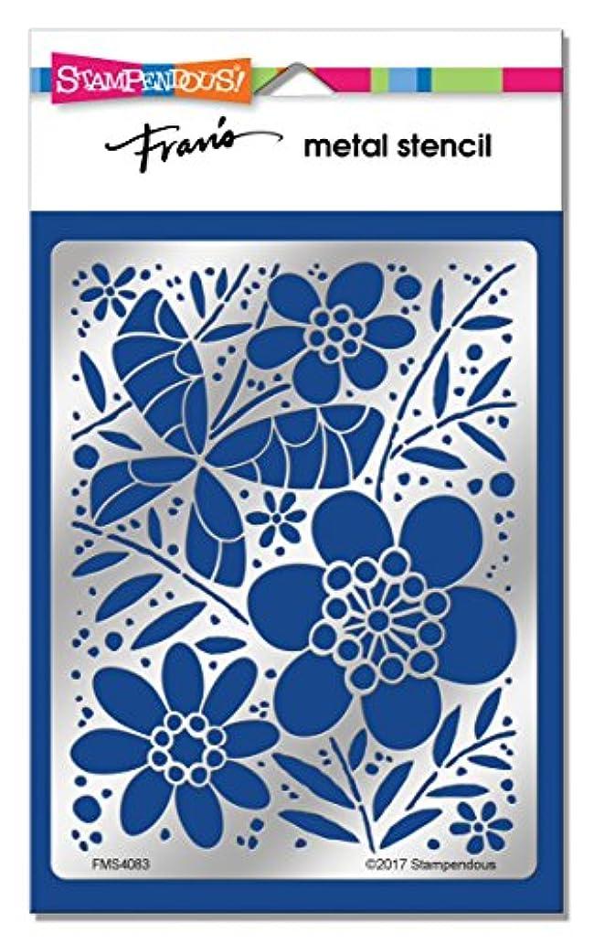 STAMPENDOUS FMS4083 Butterfly Field Metal Stencil cbs5830673