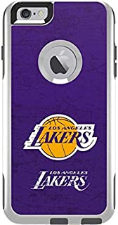 14becee2e10623 Skinit Los Angeles Lakers Purple Primary Logo OtterBox Commuter iPhone 6  Plus Skin for CASE -
