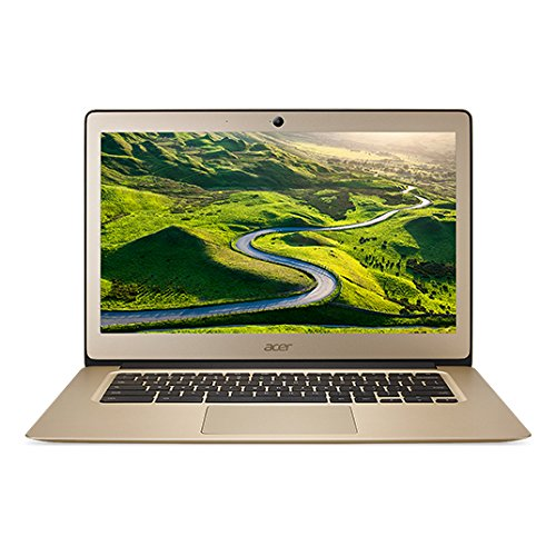 Acer 14in Chromebook Celeron N3160 Quad-Core 1.6GHz, 4GB RAM,32GB Flash, ChromeOS (Renewed)