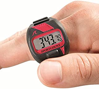 SC SPORTCOUNT 200 Lap Counter Timer - Waterproof Swimming and Running Tracker Counts Total Laps, Elapsed Time, Split Time, Average Laps and More