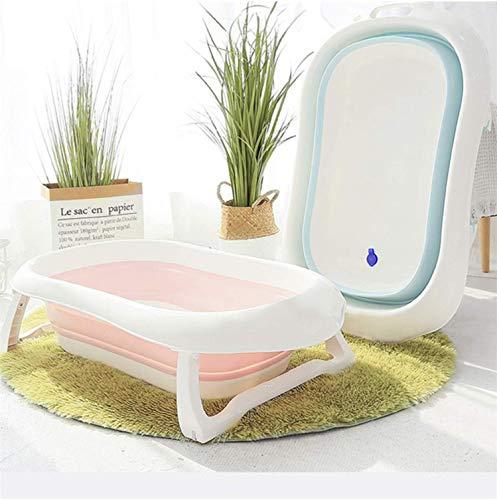 RHP Badewanne für Babys Ergonomische Babywanne Anti-Rutsch Kunststoff rutschfest klappbar - 3 Farben (Hellgrün)