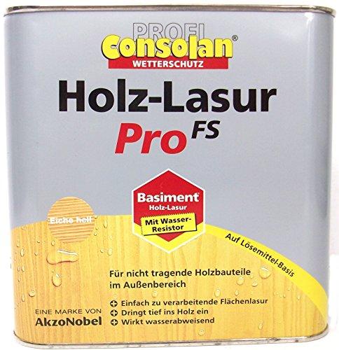 Consolan Holz Lasur Pro FS, 0,75 Liter in Farblos