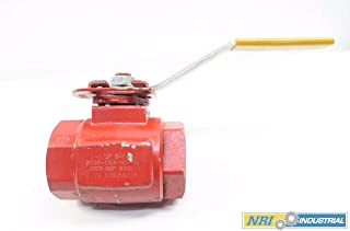 WKM B138-CS3-43-S2 DYNASEAL 1-1/2 in NPT Iron Ball Valve D579525