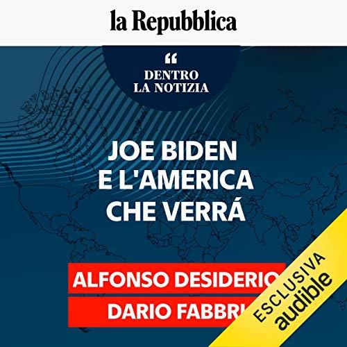 Couverture de Joe Biden e l'America che verrà