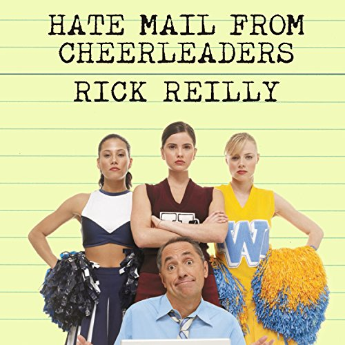 Hate Mail from Cheerleaders audiobook cover art