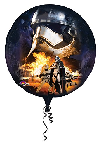 Anagram 3162301 - Folieballon Super Shape, Disney Star Wars Episode VII, Stormtrooper, 81 x 81 cm