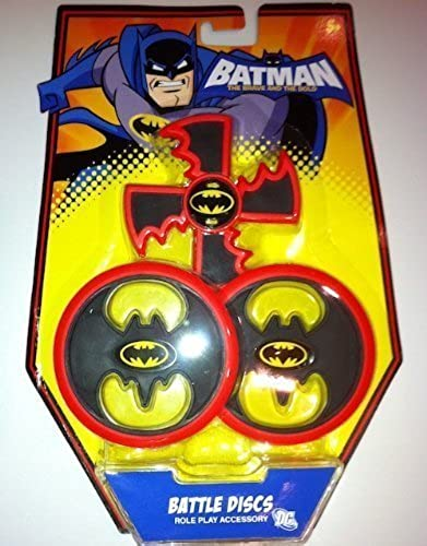 Batman The Brave and The Bold  schwarz Battle Discs Role Play Accessory