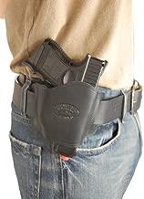 Barsony New Quick Slide Gun OWB Black Leather Holster for S&W 669 6904 6906 Right