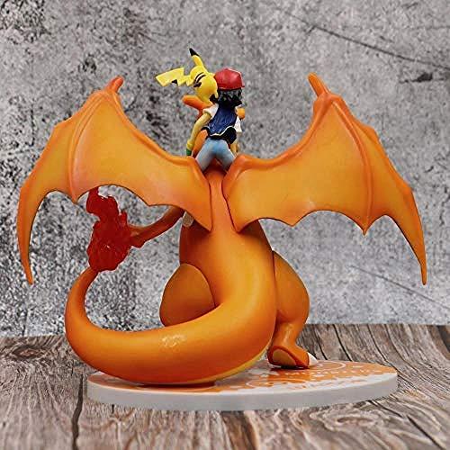 No Pokemon Anime Figura Modelo Estatua Hecha Mano
