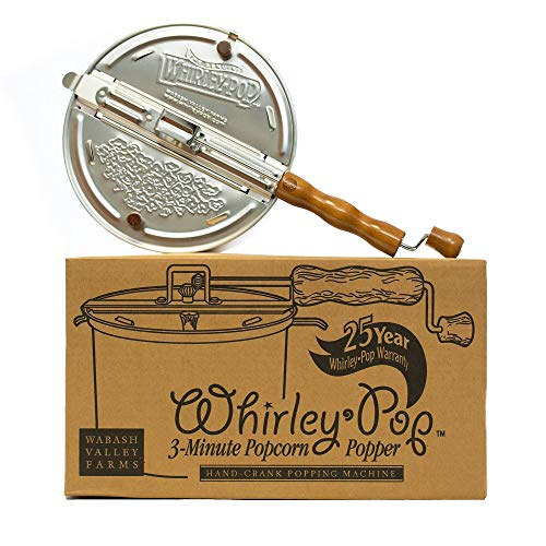 Whirley-Pop Popcorn Popper - Metal Gear - Silver