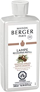 Heavenly Spruce | Lampe Berger Fragrance Refill by Maison Berger | for Home Fragrance Oil Diffuser | Purifying and perfuming Your Home | 16.9 Fluid Ounces - 500 milliliters | Made in France