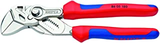 KNIPEX Tools 86 05 180 7-Inch Pliers Wrench Comfort Grip