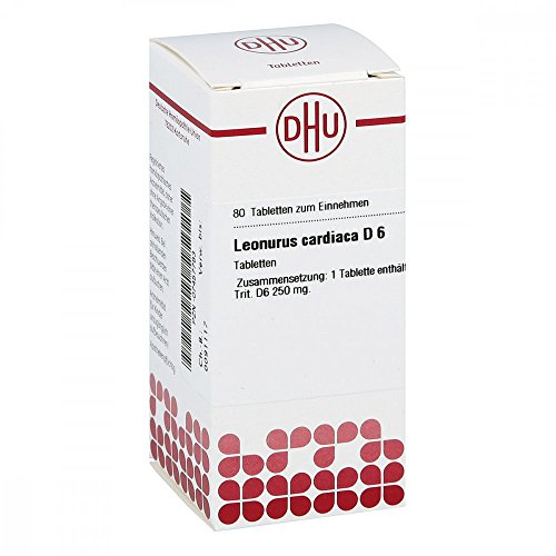 Leonurus Cardiaca D 6 Tabletten 80 St