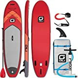 GILI 10'6 Inflatable Stand Up Paddle Board Package (10'6'...