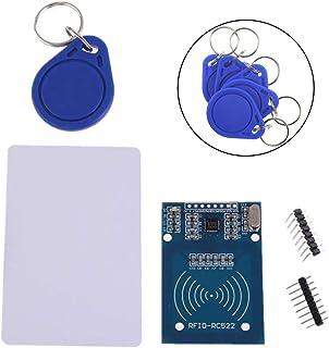 KeeYees RFIDセット RFIDモジュール RFID-RC522 MFRC522 13.56MHz + S50 非接触ICタグ + カードキー 「おまけ付き」 (1セット入り)
