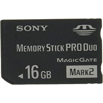 """ソニー 著作権保護機能搭載IC記録メディア""""メモリースティック PRO デュオ""""  16GB MS-MT16G T1"""