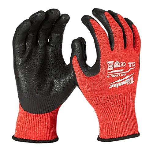 Milwaukee Cut 3 Nitrile Gloves - (Extra Large)