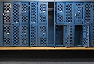 Yeele Photography Backdrops - Photo Background - 7x5ft Stadium Gym Swimming Pool Locker Room Storage Cabinet Backdrop School Student Artistic Portrait Photo Studio Props
