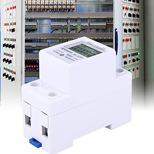 Naroote Medidor de energía eléctrica, DDS2626 Medidor de energía electrónico monofásico 2P...