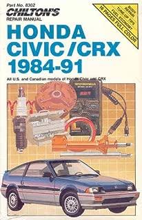 Chilton's Repair Manual: Honda Civic/Crx 1984-91 : All U.S. and Canadian Models of Honda Civic and Crx