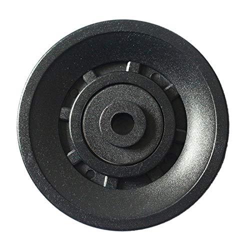 MOVKZACV Parte redonda de nylon rodamiento de la polea de la rueda del gimnasio impermeable seguro equipo de fitness