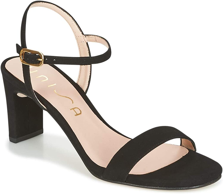 Unisa MABRE Sandalen Sandaletten Damen Schwarz - 39 - Sandalen Sandaletten  | Erschwinglich
