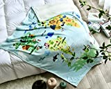 Baby Blanket for Kids Super Soft and Warm Toddler Blanket with Animals Multicolor Printed Size 50'x60' Lightweight Microfiber Blanket for Baby…