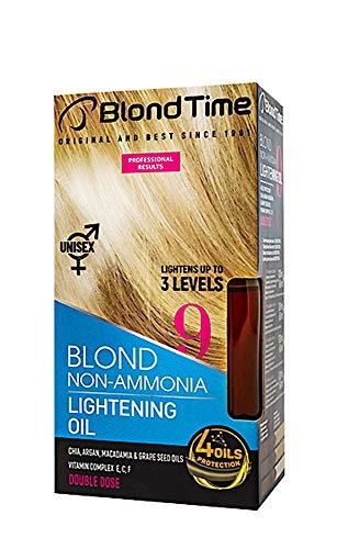 Huile éclaircissante pour les cheveux, éclaircit jusqu'à 3 niveaux, décolorant pour les cheveux sans ammoniaque, 180 ml