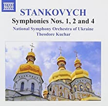 Stankovych: Symphonies Nos 1, 2 & 4 [Theodore Kuchar] [Naxos: 8555741] by National Symphony Orchestra of Ukraine