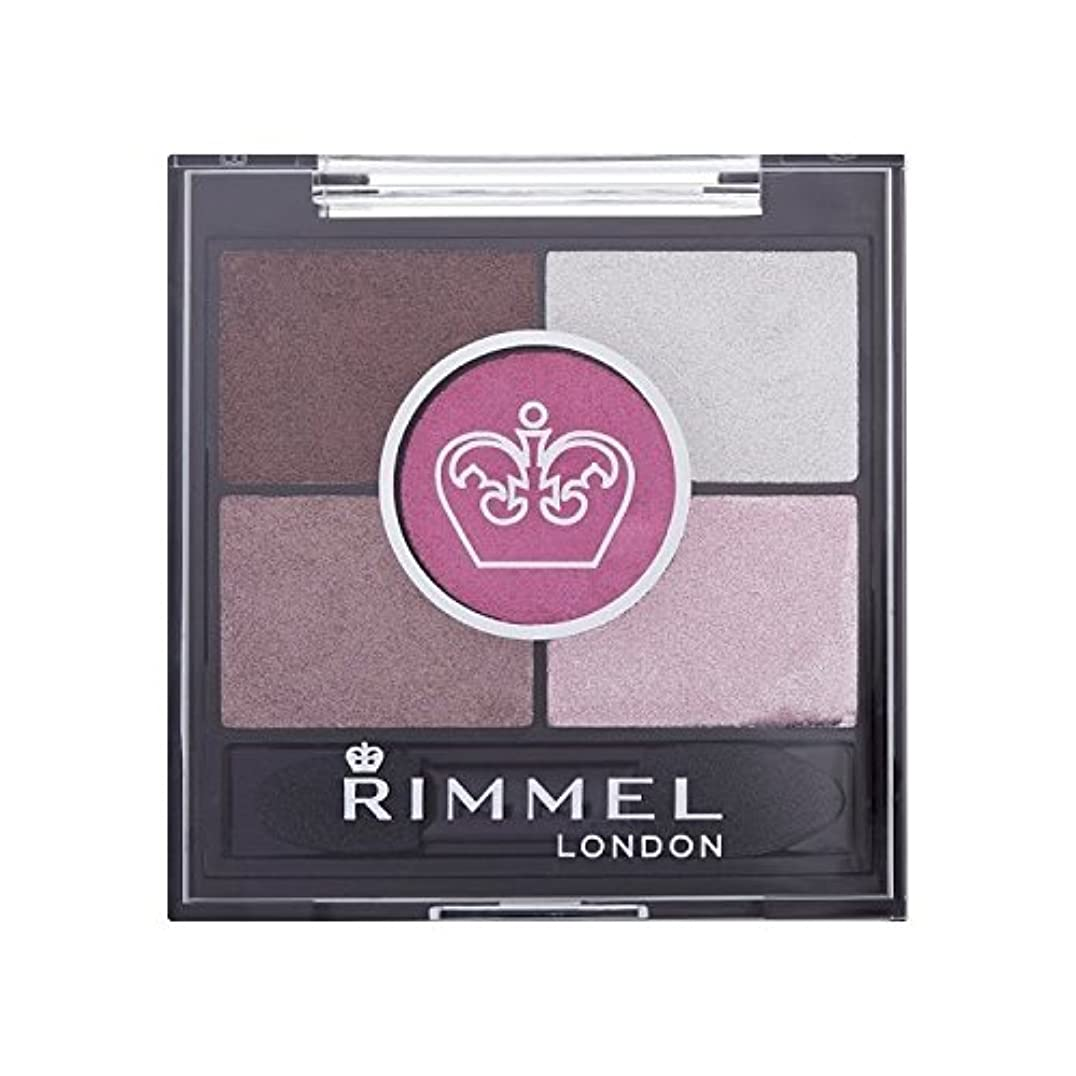 リンメル5パンアイシャドウサーカス x4 - Rimmel 5 Pan Eyeshadow Pinkadilly Circus (Pack of 4) [並行輸入品]