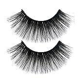 yanbirdfx False Eyelashes, 6D Magnetic Liquid Eyeliner with 5 Magnet Faux Eyelashes Tweezers Women Makeup Dramatic Thick Long Fluffy