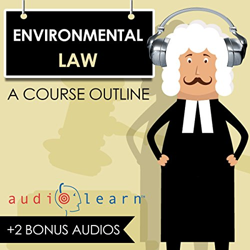 Environmental Law AudioLearn audiobook cover art
