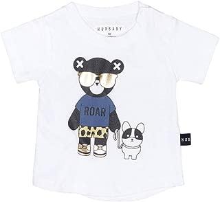 HUXBABY Hux Bulldog T-Shirt (Infant/Toddler) White 3-6 Months
