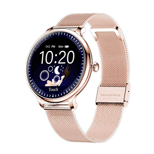 Smart Watch for Women, Yohuton Smartwatches Fitness Tracker Compatible with iOS, Android Phone, IP67 Waterproof Watch, Heart Rate Monitor, Sleep Tracker, Calorie Counter, Smart Watch (Rose Gold)