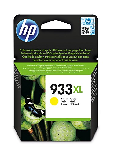 HP Inc. Ink Yellow, 10ml No. 933XL, CN056AE#BGX (No. 933XL High capacity)