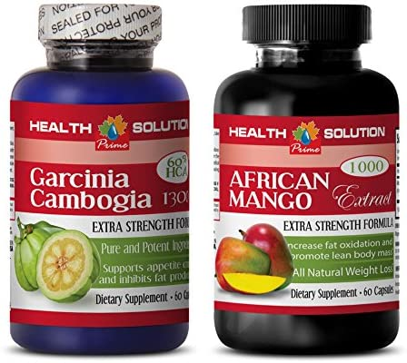 Immune Perfect Garcinia CAMBOGIA African Mango Combo Garcinia Natural Slim 2 Bottles Combo product image