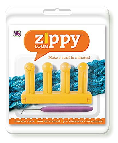 Authentic Knitting Board KB6500 Zippy Loom, 5.25 by 3