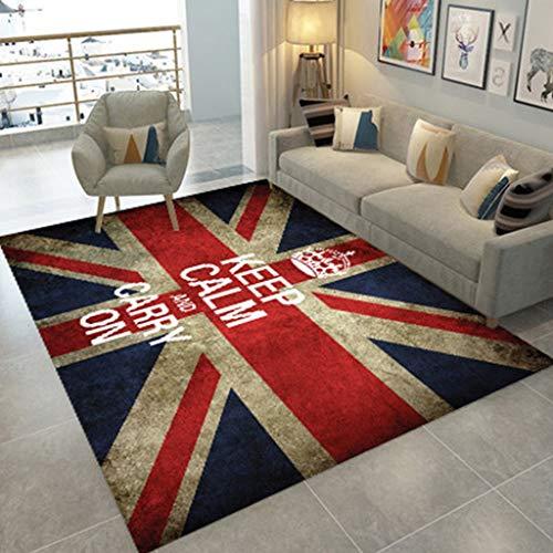 Hedendaagse tapijt, duurzaam duurzaam anti-slip Easy Care-tapijtreiniger machine veegmachine slaapkamer woonkamer mat (120 * 160 cm) 11.26 tapijt (kleur: U, maat: 140 * 200cm)