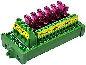 DC Power Fuse Distribution Strip Module (6 Position, Screw Mount)