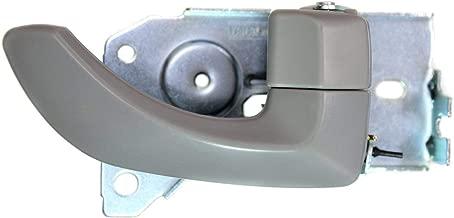 PT Auto Warehouse KI-2550H-FR - Interior Inner Inside Door Handle, Light Gray - Front Right Passenger Side