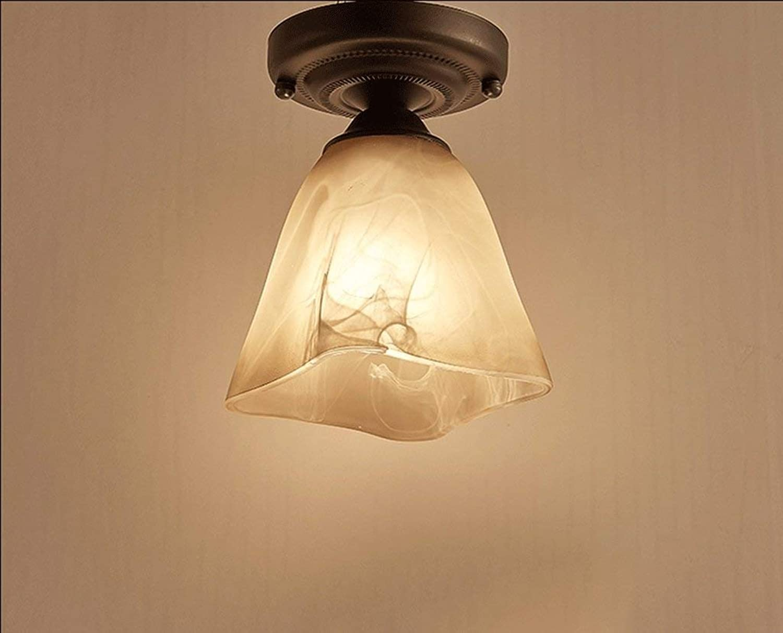 Decke,Continental Einfache moderne LED-Decke amerikanische Schlafzimmer Bed Restaurant Living Room Bar Persnlichkeit Kreative Beleuchtung leicht zu reinigen Deckenleuchte